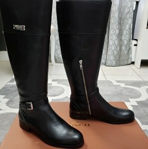 Coach Micha Riding Boots Black size 7.5